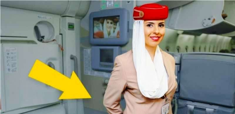 Do You Know WHY Flight Attendants Keep Their Arms Behind Their Backs When Greeting Passengers?!