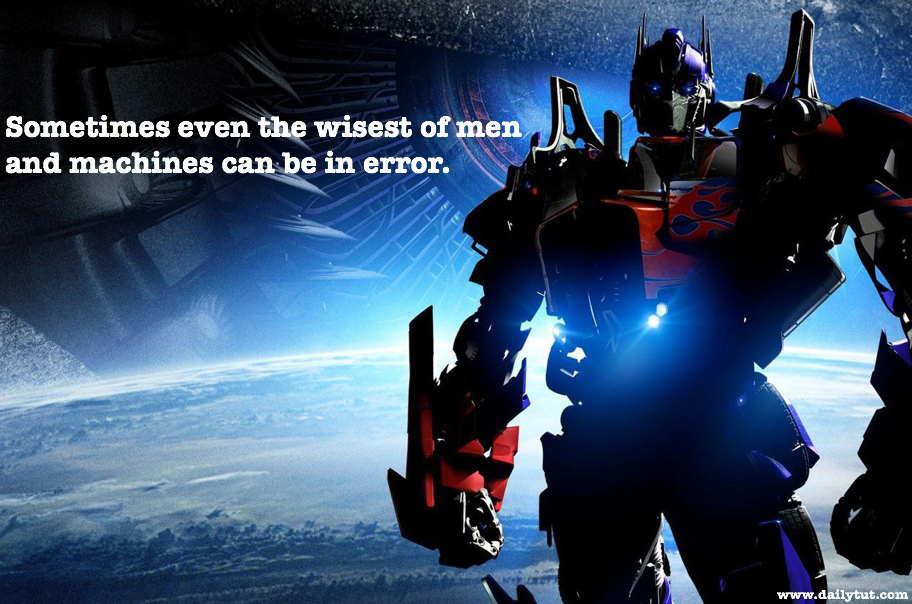 12 Greatest Transformers Quotes Of All Time Calling All Optimus Fans