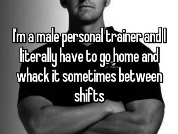 Sweaty And Honest Confessions From Male Personal Trainers