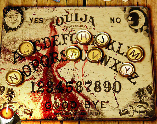 Ghosts of Ouija board