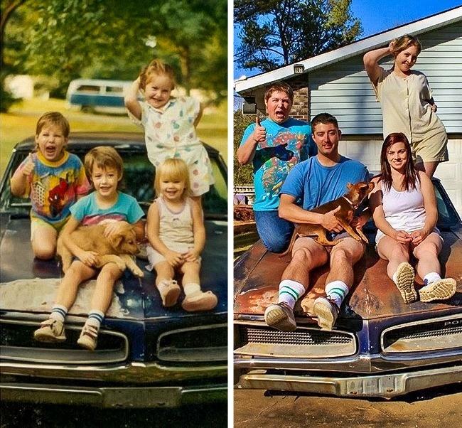 Hilarious childhood photographs