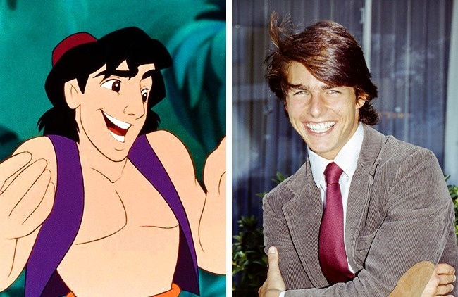 Human look-alike of Cartoon Characters