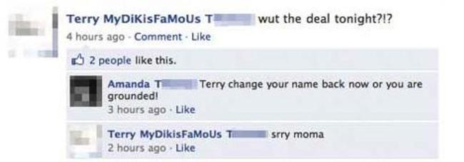 kids parents online trolled