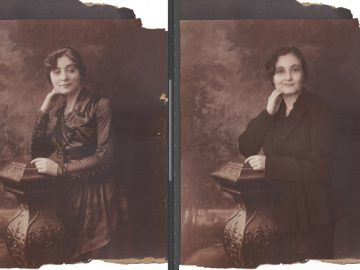 woman transformed family members