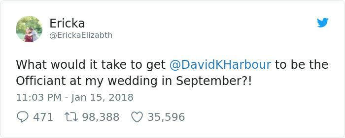 David Harbor From Stranger Things Jokingly Promised Another Girl To Fulfill Her Dream, Regrets It Immediately