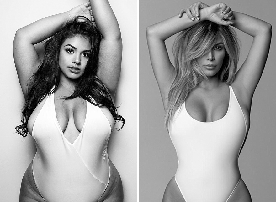 Plus-Size Model Recreates Gigi Hadid's Nude Photo Shoot And Breaks The Stereotypes
