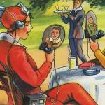 vintage illustrations predicting future