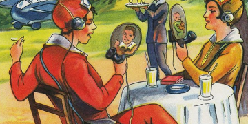 vintage illustrations predicting future