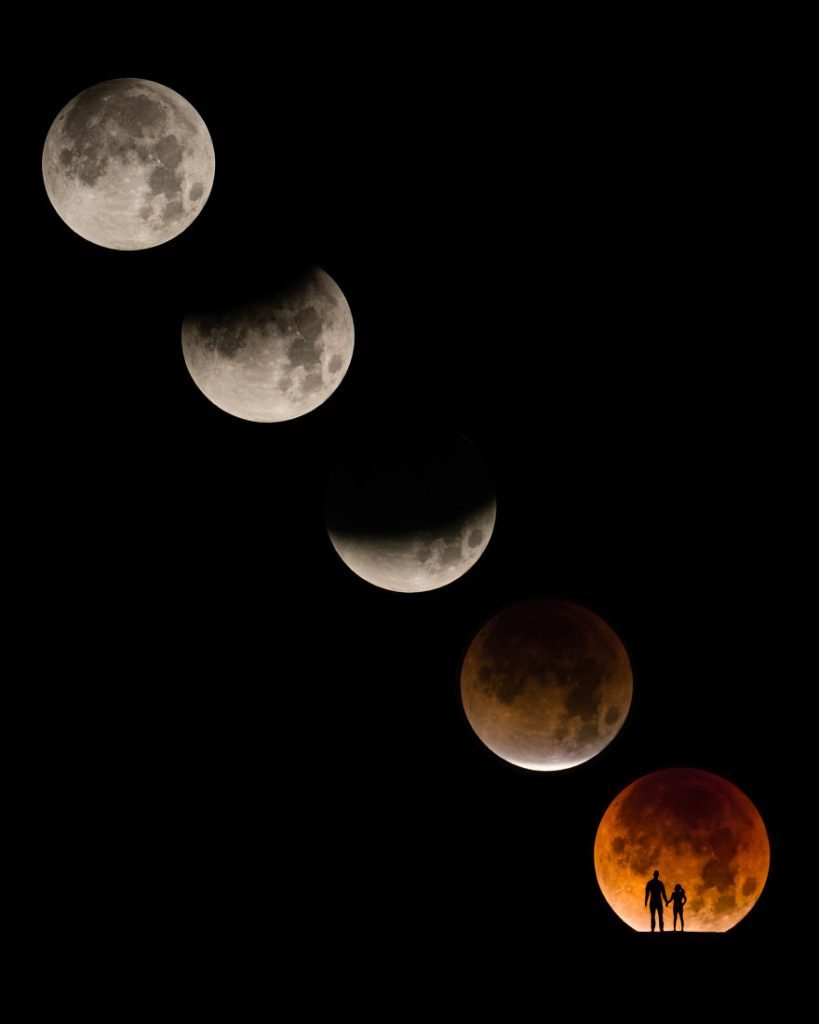 "Photographer Captured The Rare ""Super Blue Blood Moon"" Pictures And They Look Incredible"