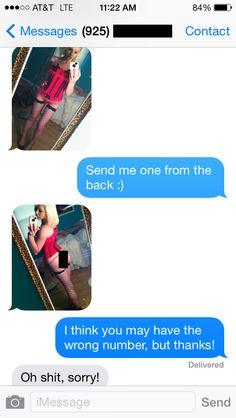 Girls send private photos