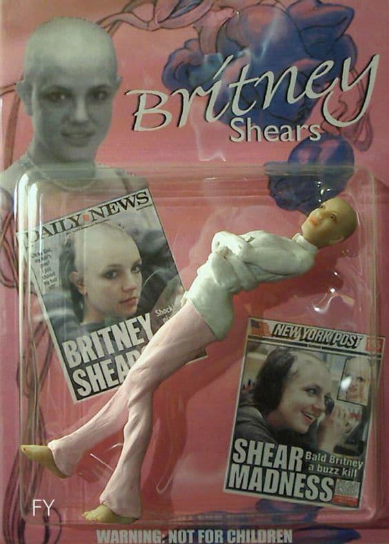 celebrity doll fails