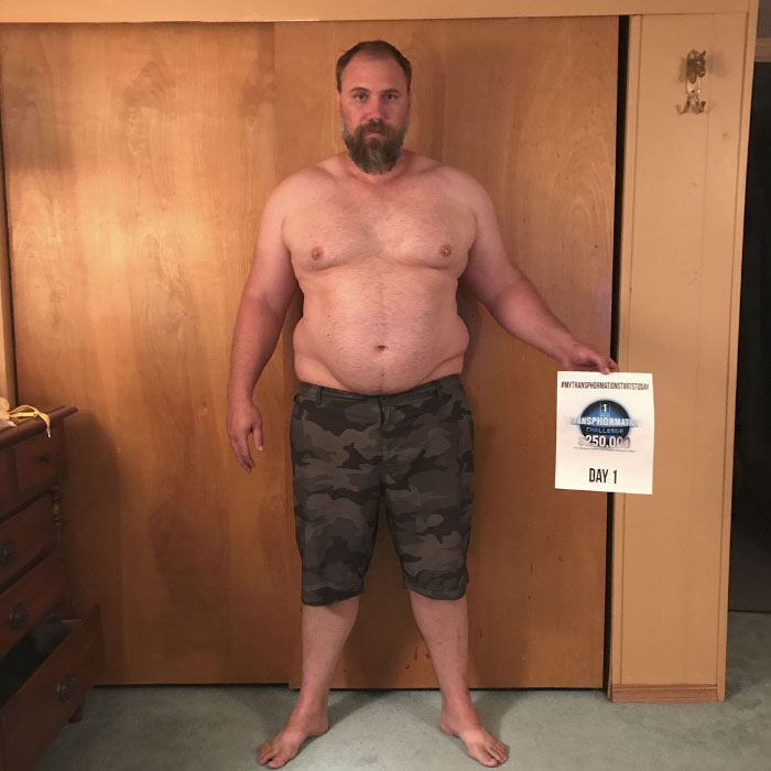 Father Of Three Completely Transforms His Body Beyond Recognition In 6 Months To Keep Up With His Kids