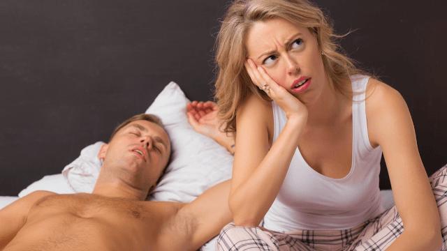 Men reaching orgasm