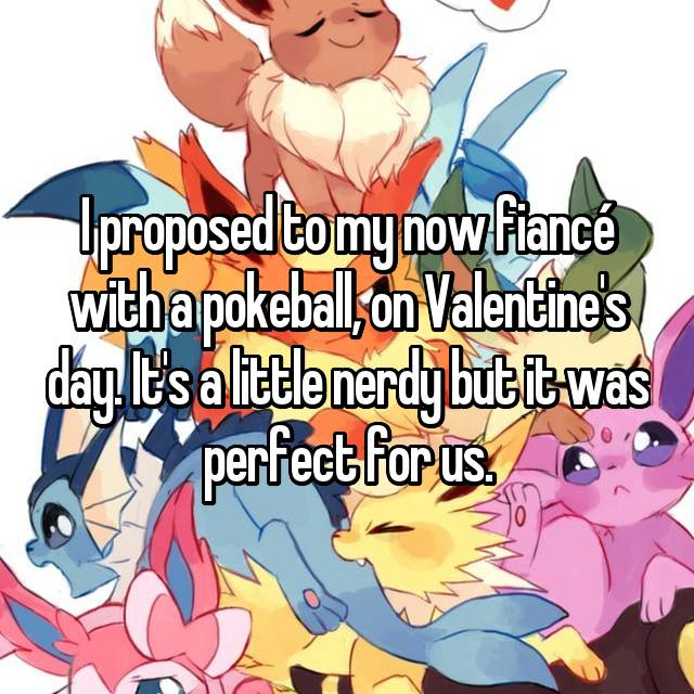 Valentine's day proposal