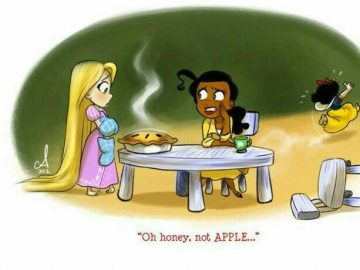 This Is What Happens When Disney Princesses Starts Living Together And Getting Real