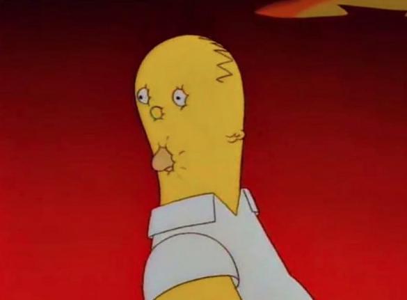 Simpsons and split-second scenes
