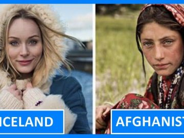 Women from 60 different countries captured