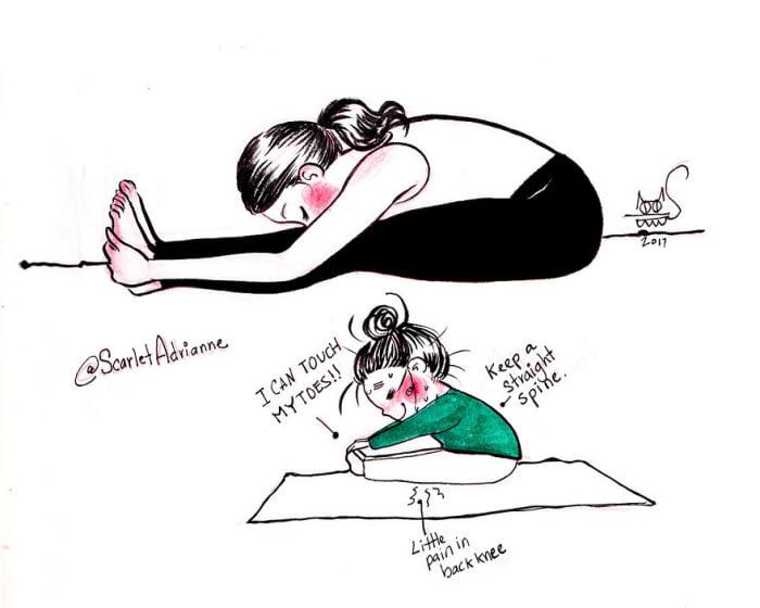 yoga expectations vs reality