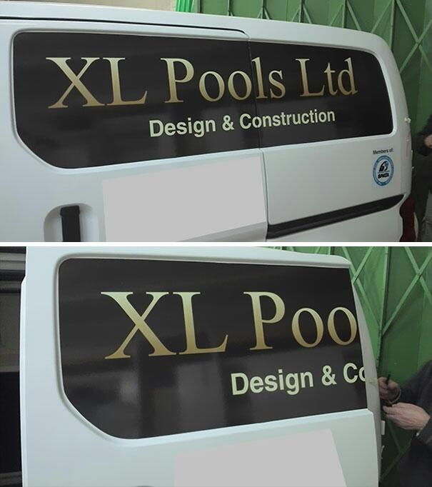 Advertisement Fails On Vehicles That Were Noticed A Bit Too Late