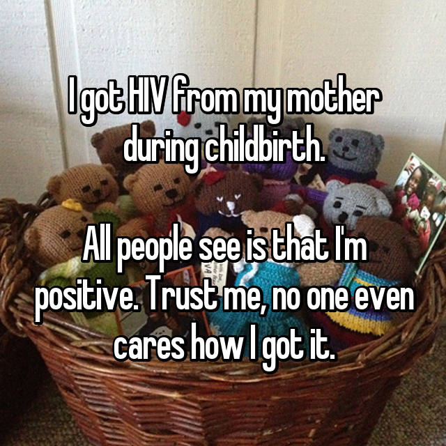 people born HIV positive share their daily hardships