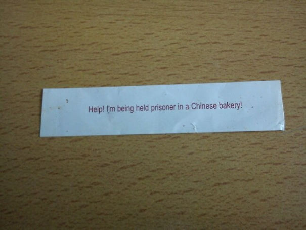 Funniest Messages People Found Inside Fortune Cookies