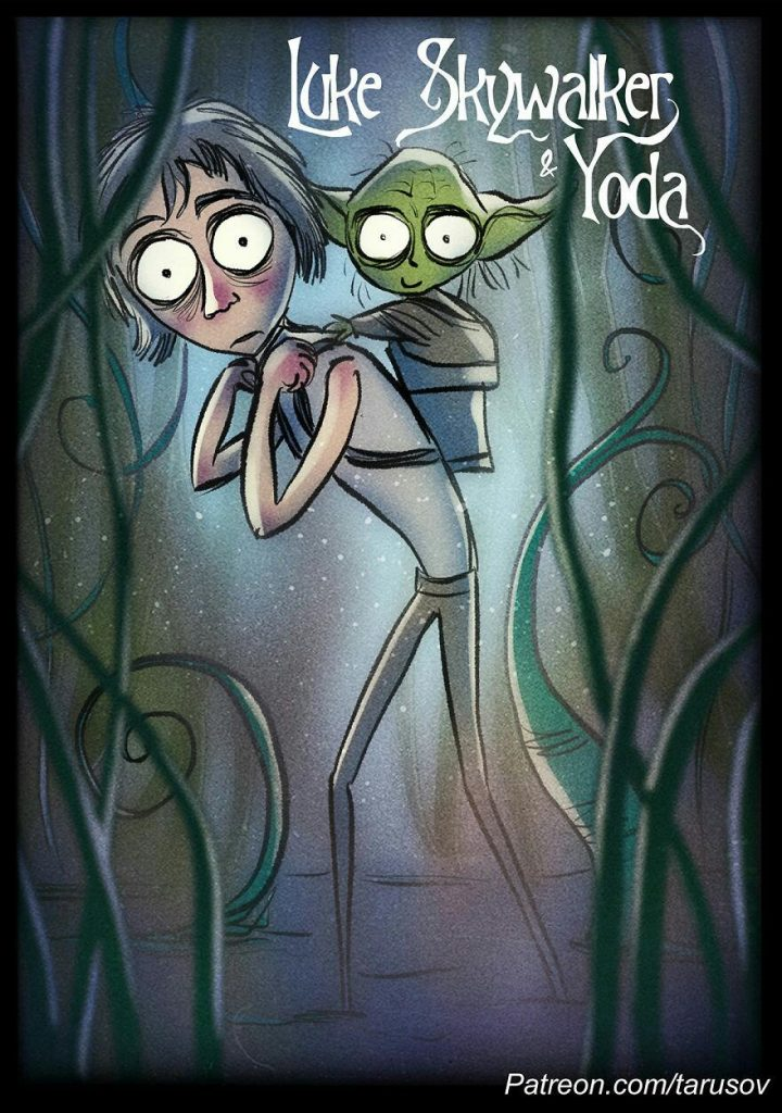 Here's What Would Happen If Tim Burton Directed Star Wars Movies