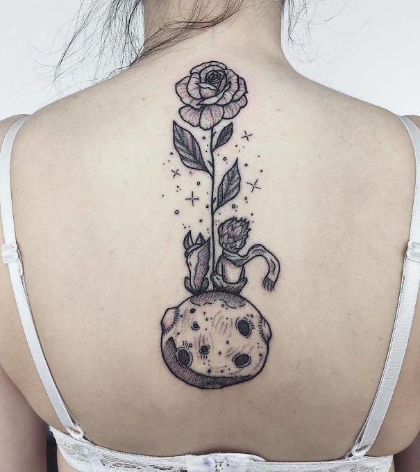 Spine Tattoo
