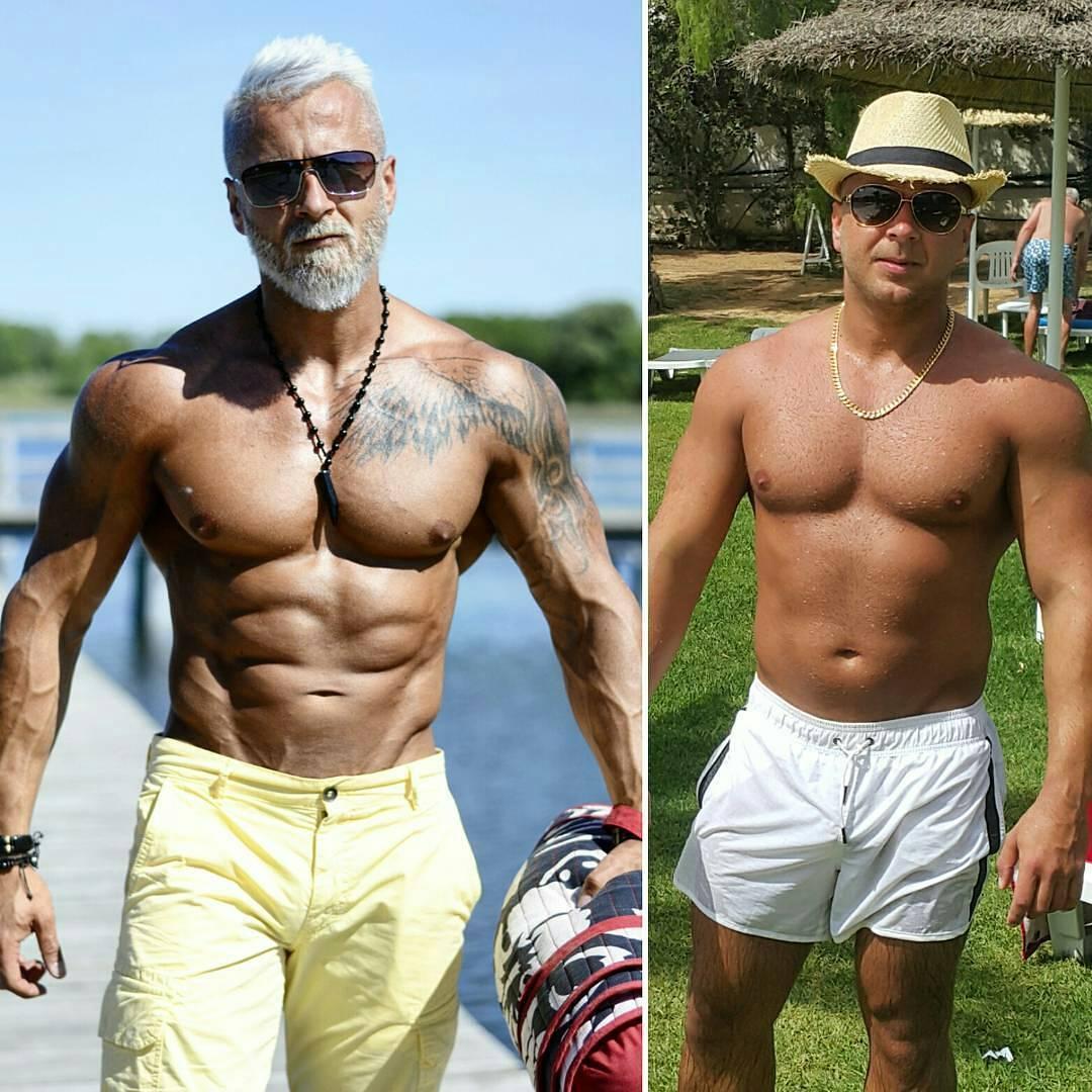 gym guy made himself look old